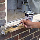 Repairing a damaged window