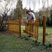 Constructing a picket fence
