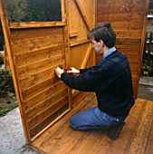 Garden Shed construction.