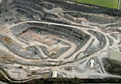Aerial, Quarry, Vale of Glamorgan, South Wales
