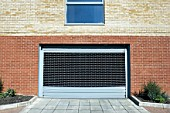 Electronic garage gate.