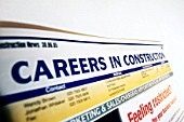 Career advertisement in a trade magazine