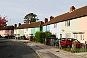 1950s terraced housing, Ipswich, Suffolk, UK