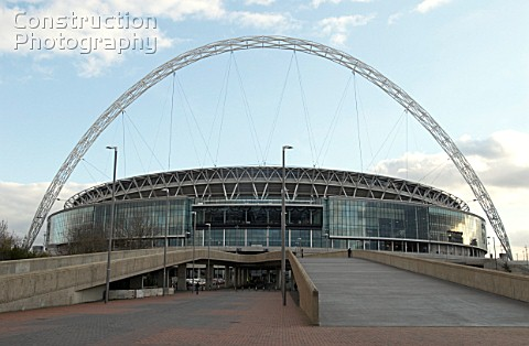 Approach to Wembley Stadium The Wembley Stadium arch is the main focus of this 798m project The stee