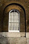 Arched-style Georgian window, United Kingdom