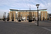 Modern development at Royal Arsenal, South East London, United Kingdom