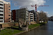 Riverside developments under construction, Norwich, United Kingdom