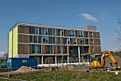 New building for Faculty of Science & Technology and Faculty of Arts, Law & Social Sciences at the Rivermead Campus, Anglia Ruskin University, Chelmsford, Essex, UK