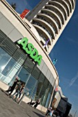 Asda store and housing developments, Romford, UK