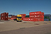 Felixstowe Port, Suffolk, UK