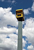Road speed camera, London, UK