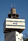 Tower of the British Telecom building, Ipswich, United Kingdom