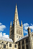 Norwich Cathedrals spire, UK