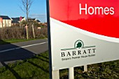 Barratt Homes development, Witham, UK