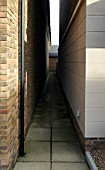 Alleyway between houses, Kent, UK