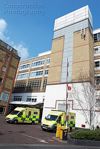 AE wing of Chelsea and Westminster Hospital London UK