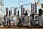 Electric substation, UK