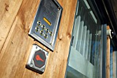 Keypad entry system for modern apartments, Norwich, UK