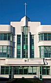 The grade II listed Hoover building, designed and built for the Hoover company by the art-deco inspired architectural practice Wallis, Gilbert & Partner in 1932, London, UK
