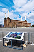Plans for Battersea Power Station, London, UK