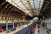 Paddington Railway Station, West London, UK