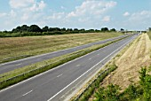 A131 dual-carriageway stretch near Braintree, Essex, UK