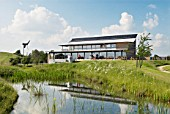 Eco centre and park built near Braintree, Essex, UK