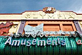 Amusements building along the promenade at Southend-on-Sea, Essex, UK