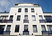 Art-deco inspired apartments, Holborn, London, UK