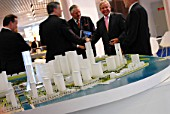 Investors at MIPIM, Cannes, France, 2009