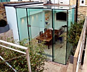 Glass extension, STA Architects, Chelsea, London, United Kingdom