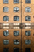 Reflection of London Wharf Building