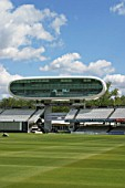 Media centre at Lords Cricket Ground. London, United Kingdom.