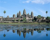 Angkor Wat temple, Siem Reap, Cambodia. UNESCO World Heritage.