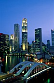 Financial District, Clarke Quay & Singapore River, Singapore.