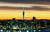 Auckland city skyline, New Zealand.