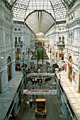 Shopping Arcade, Moscow, Russia.