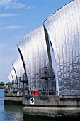 England, London, Thames Barrier