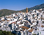 The White Villages, Pueblos Blancos, Competa, Andalusia, Spain