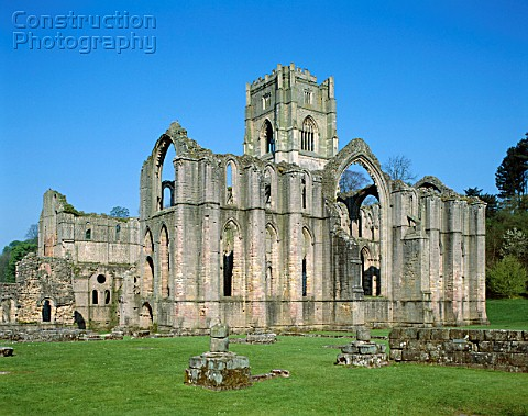 Fountains Abbey Rippon North Yorkshire England