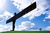 Angel of the North Statue, Gatehead, Tyne and Wear, England