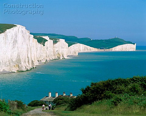 Seven Sisters Cliffs East Sussex England