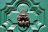 Detail of door knocker
