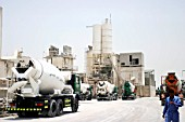 Cement factory in Abu Dhabi, UAE