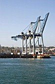Giant Cranes at Auckland Docks, New Zealand