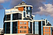 Victoria Harbour building, Salford, Manchester, United Kingdom