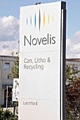 Novelis (formerly Alcan) Aluminium recycling plant, Latchford, Warrington, Cheshire, United Kingdom