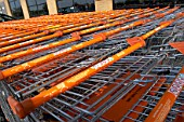 B&Q shopping trolleys