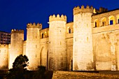 11th Century Aljaferia Palace, Zaragoza, Spain