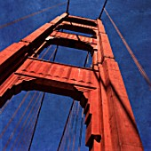 Golden Gate Bridge, California, USA (painterly)